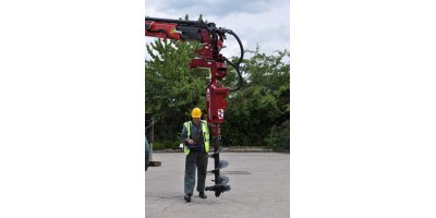 Model 50,000 PXV - Variable Speed Crane Mounted Powerhead Auger Drives