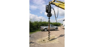 Rock Master - Excavator Mounted Auger Drives