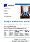 Cambridge - Model HFR/AW Series - 6 5m Roller Brochure