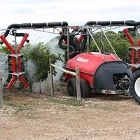 Silvan - Model 4000L G2E TGS - 2 Row Vineyard Sprayer