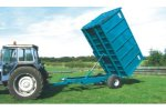 Model 4 Tonne - Horse Muck Trailer