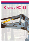 Cranab Forwarder and Harvester Cranes HC185- Brochure