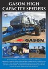 Gason - Model 2170 & 2210 - Air Seeders  Brochure