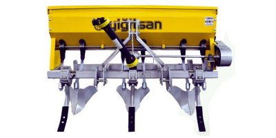 Fertilizer Spreader & Hoe Machine