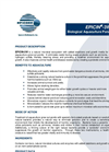 EPICIN - Model G2 - Biological Aquaculture Treatment - Datasheet