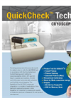 QuickCheck - Model TECH - Cryoscope Analyzer Brochure