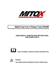 Multi-Tool 4-in-1 Power Tool 270 - MT- Brochure