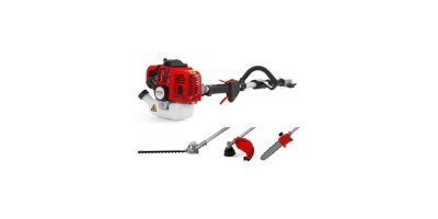 Mitox - Model 27MT - Grass Trimmer, Brushcutter, Hedgetrimmer and Pole Pruner