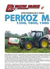 PERKOZ MAX - 1300 1600 1900 - Mounted Crop Field Sprayers  Brochure