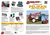 PELIKAN - Model 1000 1500 & 2000 - Trailed Crop Field Sprayers Brochure