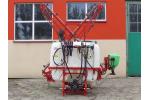 PERKOZ  - Model 400, 600, 800 and 1000 - Mounted Crop Field Sprayers