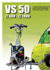 V.M.A. - Model VS 50 LT 600 - LT 1000 - Articulated Low Volume Atomizer Articulated Sprayer Brochure