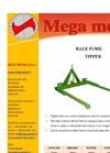 Model RG 1000 – RG 1200 – RG 1500 - Double-Disc Fertilizer Spreaders Brochure
