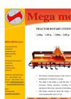 Model 1,40m – 1,60m – 1,80m – 2,00m – 2,30m - Tractor Rotary Cultivator Brochure
