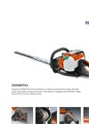 Hedge trimmers 325HD75x Series- Brochure