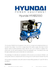 50L Belt Drive Home Series Air Compressor  HYAB2550- Brochure