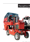 Tobacco Harvester 1 line 4 wheels - Brochure