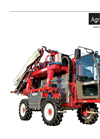 AGRI - Model JS 826 - Self-Propelled Sprayer - Technical Data