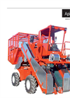 Apical 800 - 4 Wheels 2 Lines for Top Leaves Tobacco Harvester - Technical Data