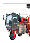 Agri JS 810 Self-Propelled sprayer - Technical Data