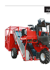 Apical 600 Tobacco Harvester 3 Wheels 2 Lines for Top Leaves - Technical Data