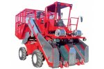 Apical - Model 800 - 4 Wheels 2 Lines for Top Leaves Tobacco Harvester