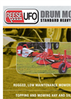 Drum Mower Brochure