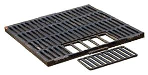 Cast-iron grating