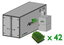 Model Large - Fresh Fodder Production System