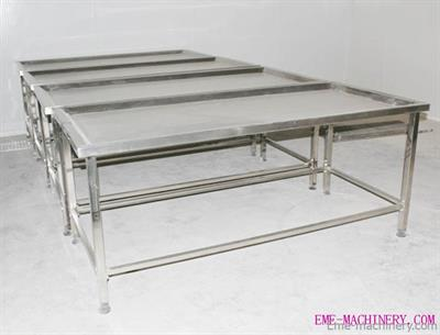 Qingdao - Model QE-TD17 - White Viscera Receive and Clean Table Butchery Equipment