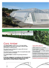 Coral Amber - Greenhouses Brochure