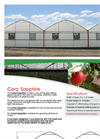 Coral Sapphire - Greenhouses Brochure