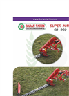 Model CB-960 - Sickle Bar Mower Brochure