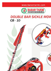 Model CB-10 - Double Action Sickle Bar Mower Brochure