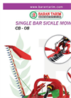 Model CB-08 - Sickle Bar Mower Brochure