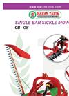 Model CB-08 - Sickle Bar Mower Brochure