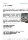 AquaSearch - Freshwater Datasheet