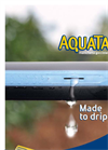 Flexible Polyethylene Irrigation Pipes AQUATAPE Series- Brochure