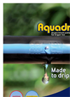 Aquadrop - Drip Line with Flat Emitter Brochure