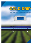 Gold-Drip - Drip Line With Cylindrical Emitter - Brochure