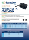 Plastic-Puglia Agricultural Hose For Intensive Open Field Cultivation - Datasheet