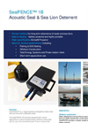 SealFENCE -Model 1B - Acoustic Seal & Sea Lion Deterrent - Brochure
