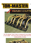 Tor-Master - Trash Cutter Brochure