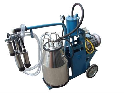Model PM-03 - Piston Type Single-cow Milking Machine, Iron Frame