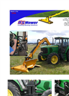 Front Swing Tool Carrier Boom Mower Brochure