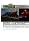 AppliMax - Transport Safety Lights - Datasheet