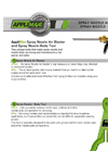 AppliMax - Spray Nozzle-Body Tool - Datasheet