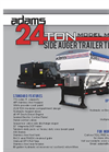 24 Ton 3 Hopper Side Discharge Trailer Tender- Brochure