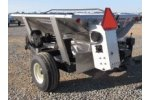 ADAMS - Model A-70-2T - Stainless Steel Ground Driven Fertilizer Spreader