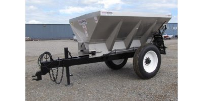 Adams - Model 200 Cubic Ft. (6-ton) 304 - Stainless Steel Stainless Steel Lime/Fertilizer Combo Spreader